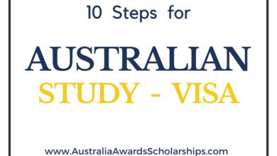 10 Steps for Australian Student VISA Application