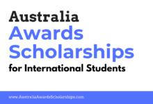 Australia Awards Scholarships 2022-2023