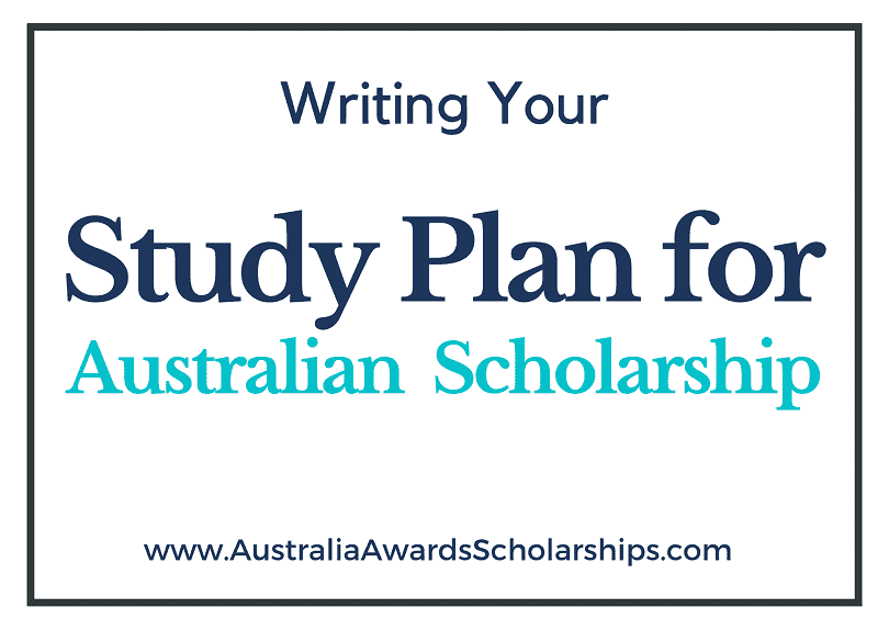 Study Plan for Australian Scholarships, and Admissions in 2022-2023