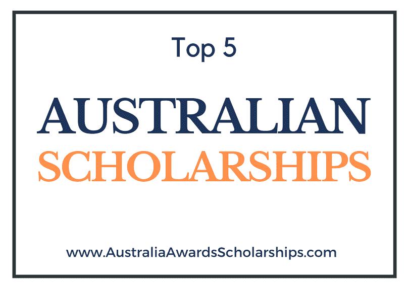 Top 5 Scholarships in Australia in 2022-2023