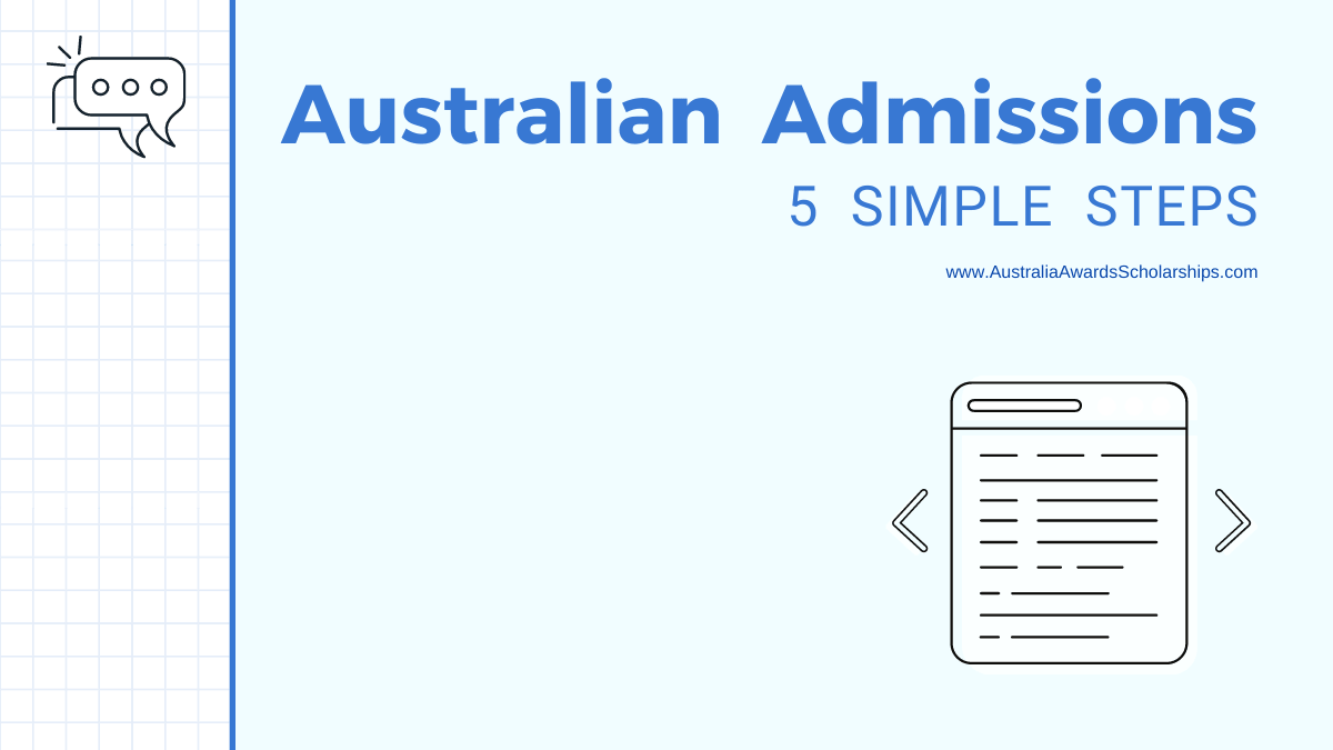 6 Steps to Apply for Admissions in Australian Universities