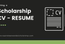 An Impressive & Winning Resume or CV for Scholarship Application
