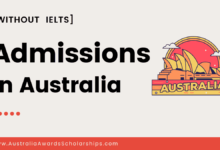 Get Admission in Australia WITHOUT IELTS in Following Universities