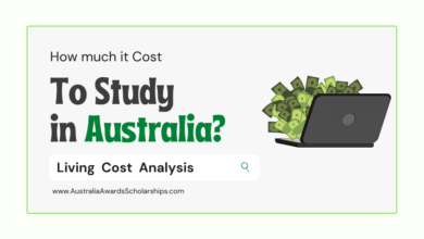How much it Costs to Study and Live in Australia