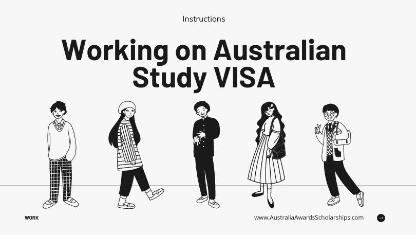 Working on Australian Study VISA